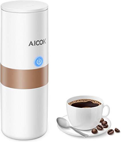 Machine Expresso Portable, AICOK Machine à Café...