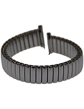 Rowi FixoflexS Zugband 12mm Uhrenarmband Edelstahl Flex Armband Uhr Band 382597