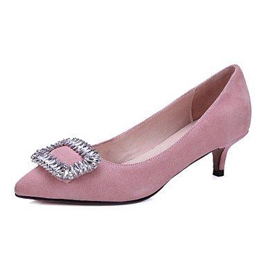 Talons pour femmes Printemps Été Automne Autre Toile Bureau et carrière Robe de soirée et soirée Robe de soirée courte Stiletto Noir Rose Rouge Autre Pink
