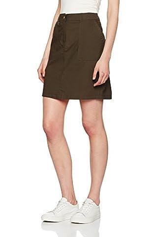 Dorothy Perkins Poplin Skirt, Jupe Femme, Green, 42
