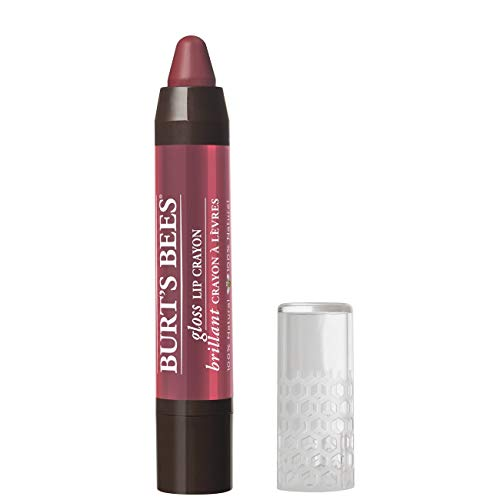 Lips Glossy Stain (Burt's Bees feuchtigkeitsspendender Lip Crayon, Tahitian Sunset, 1er Pack (1 x 2,83 g))