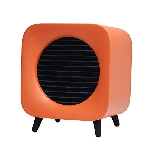P.L Calentadores pequeños Ventilador de Aire Caliente de Escritorio para pies Calientes para el hogar...