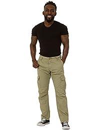 Herren Cargohose - Army Grün Combat Hose mit vielen Tasche ALFIEARMY