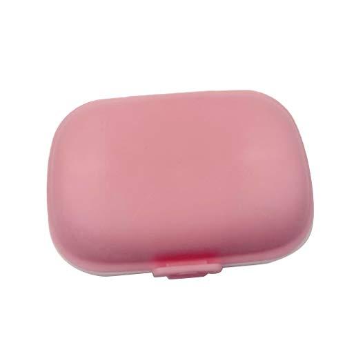 Chowcencen 8 Grid-Pille-Halter-Speicher-Organisator Schmuck Perlen Kunststoff-Behälter-Kasten Kleine Objekte Reisen Pill Box - Perlen-mini-speicher