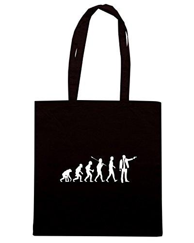 T-Shirtshock - Borsa Shopping OLDENG00481 evolution gangster Nero