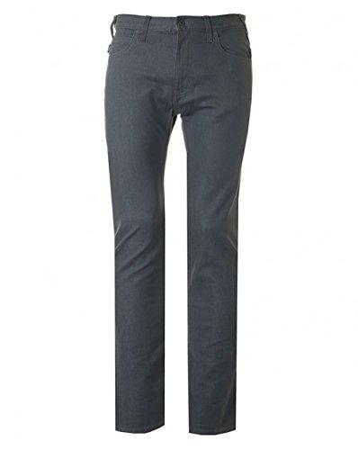 Armani Jeans Herren Slim Fit J45 Komfort Jeans Grau Grey