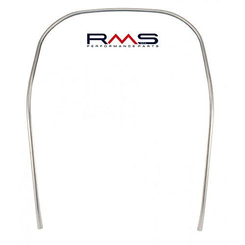 Monoschlitzrohr/Kantenschutz Beinschild RMS - Aluminium - für Vespa 50-125 Smallframe