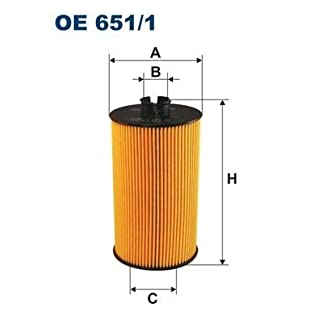 Filtron Oil Filter, oe651/1