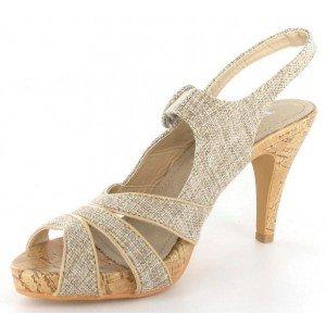 Top or - Sandales femme beige - 1014-13 Beige