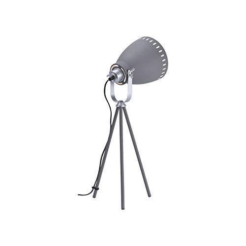 Lámpara mesa industrial gris lámpara escritorio