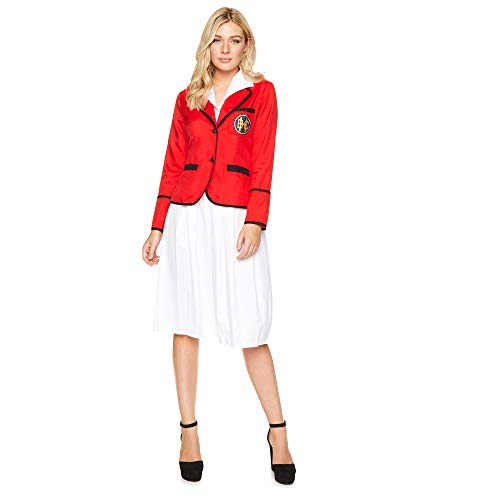 Karnival 81357 Kostüm, Women, rot, Größe -