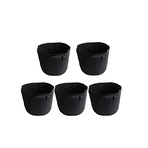 amgate-5-pack-2-gallon-gardening-grow-bags-container-with-strap-handles-aeration-plant-hydroponic-po