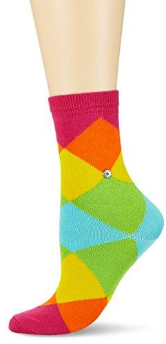 Burlington Damen Socken Bonnie, Mehrfarbig (Gloss 8550), 36/41