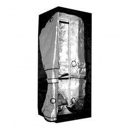 Chambre de culture Dual 90 x 60 x 200 cm - Black Silver 2 étages