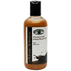 Aloe Veda Chocolate Vanilla Luxury Shower Gel, 300ml