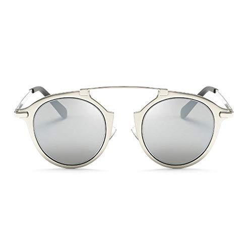 GAXIA Home Frauen personalisierte PC Objektiv Metallrahmen Sonnenbrille UV400 Schutz Sonnenbrille