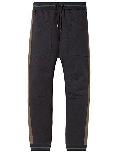 Schiesser Jungen Schlafanzughose Mix & Relax Joggpants Grau (Anthrazit 203) 176 (Herstellergröße: L)