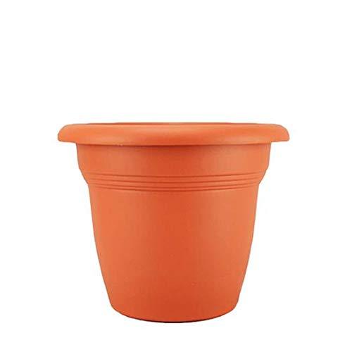 Stefanplast Pot Plastique Rond Couleur Terracotta 20cm