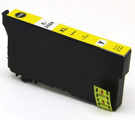 Cartuccia compatibile per Epson wf-4720dwf wf-4725dwf wf-4740dtwf wf-4730dtwf - Giallo - 150 pagine - t3594