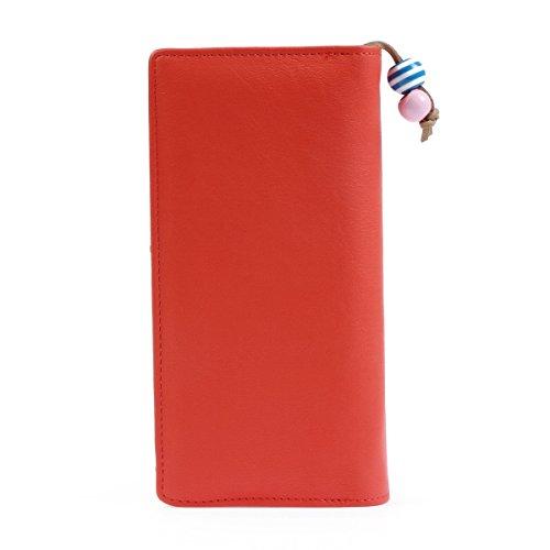 Damara da donna lungo borsa frizione portafoglio cerniera custodia borsa porta carte di credito Watermelon