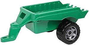 Lena GIGA Trucks Trailer vehículo de Juguete - Vehículos de Juguete (Verde, Trailer, De plástico, Interior / Exterior, 3 año(s), Niño)