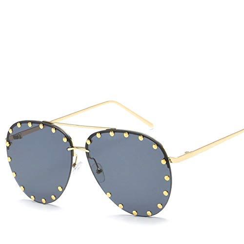 Chudanba Metall Sonnenbrillen Damen Herrenmode Brillen Unisex Trendy Sonnenbrille Neue Sonnenbrille,7