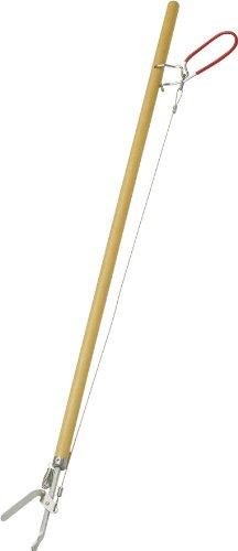 """Format 4007105300215 Greifzange""""Greifboy"""" 85cm mit Holzstiel, Beige, Länge ca. 87 cm"""