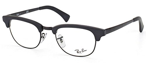 Ray Ban Optical Montures de lunettes RX5294 Black / Silver 2077: Matte black / Black