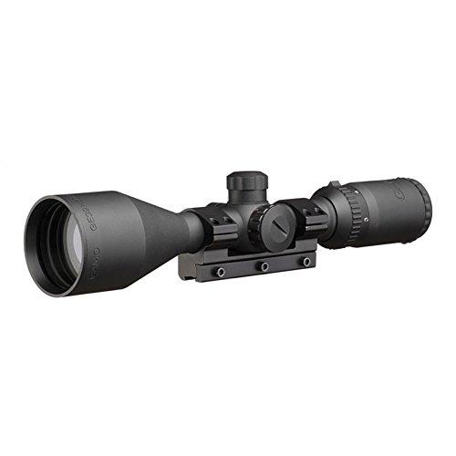 Visor Gamo. Mira telescópica 3-9x50 con zoom. Reticula iluminada RGB. Especial para tiro deportivo