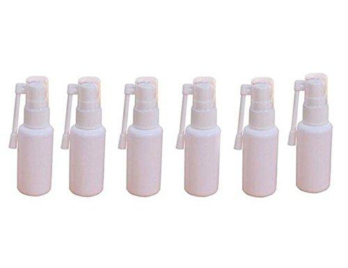 6 STÜCKE 360 Grad Leere Tragbare Kunststoff Nasenspray Flasche Sprayer Mit 360 Grad-umdrehung Zerstäuber Make-Up Parfüm Aufbewahrungsbehälter Gläser Topf