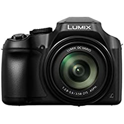 Panasonic Lumix Appareil Photo Bridge Zoom Puissant DC-FZ82EF-K (Capteur 18MP, Zoom Lumix 60x F2.8-5.9, Grand angle 20mm, Viseur, Ecran tactile, Vidéo 4K, Stabilisé) Noir - Version Française