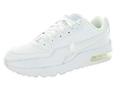 Nike Herren AIR MAX LTD 3 Laufschuhe, Weiß White 111, 42.5 EU (Männer Weiß Nike Laufschuhe)