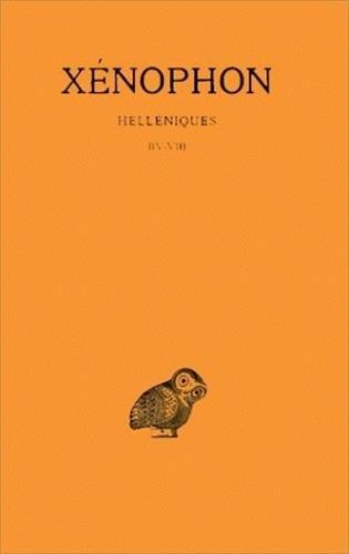 Helléniques, tome 2 : Livres IV-VII
