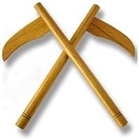 Artes marciales de madera de roble rojo Kamas