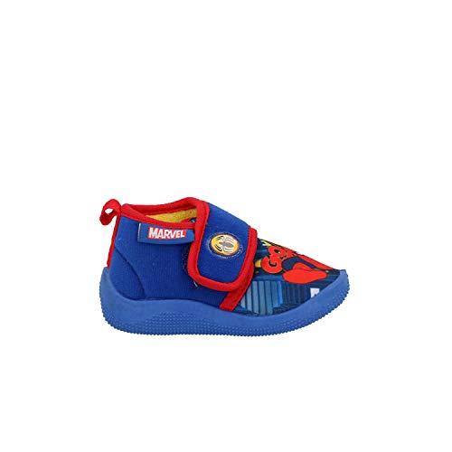 Defonseca pescara pantofole blu ciabatte bambino spiderman k80 24