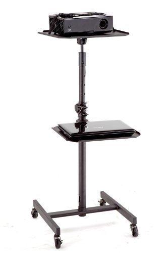 Elitech LCD DLP Projektor AV Wagen Ständer mit 4 Rollen -