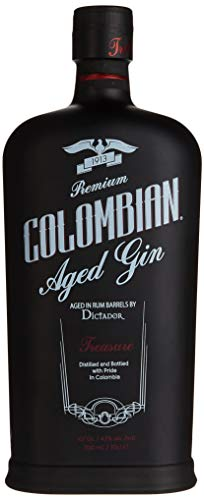 Dictador Colombian Aged Gin Black (1 x 0.7 l)