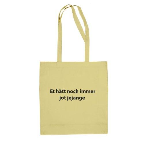 Et hätt noch immer jot jejange - Stofftasche / Beutel Natur