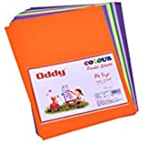 Oddy Double Side Pastel Color Sheets, 3 Sheets X 8 Colors A/4 Size (Set of 5)