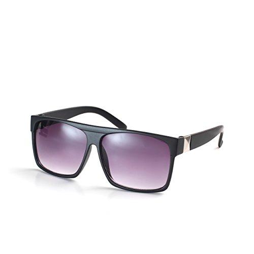 Komonee Schwarz Drifter Designer Unisex Sonnenbrille UV400 Schutz Shades (SG-117)