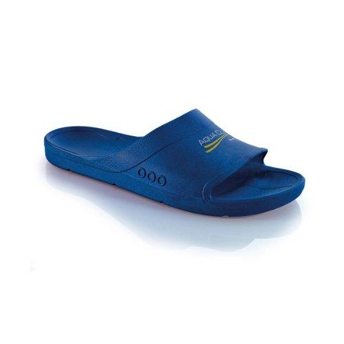 Fashy Aqua Club 7237 54, Unisex - Erwachsene Bade Sandalen Blau (Marine 54)