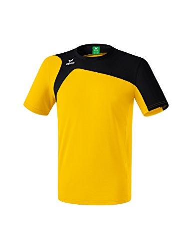 Erima Kinder Club 1900 2.0 T-Shirt, gelb/schwarz, 152 -