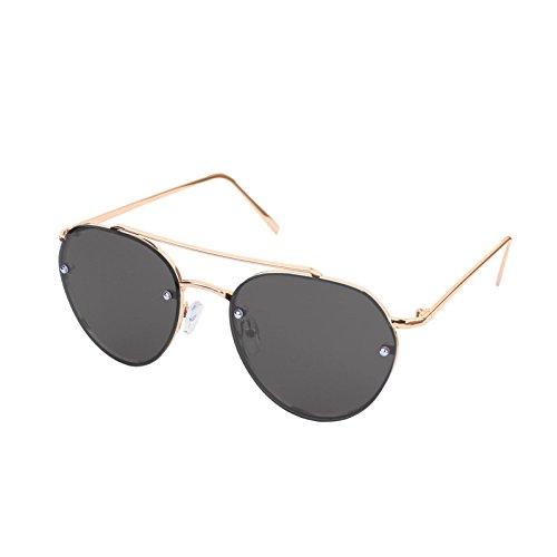LooKLooK® Aviator Style Unisex Sonnenbrille - Elegantes und Modernes Design mit Metallrahmen und Anti Glare Verspiegelte nicht Polarisierte Brille 100% UV400 Leicht Modell für Männer Frauen Trend