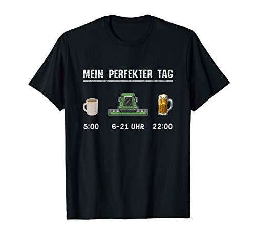 Kostüm Landwirt - Landwirt Sprüche Mähdrescher Feldarbeit Kostüm Bekleidung T-Shirt