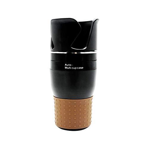 Luckybaby Multifunktions Auto Trinkflaschenhalter Drehbare Wasser Getränkehalter Sonnenbrille Telefon Organizer Innenraum Lagerung Zubehör PP