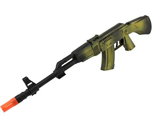 Rattergewehr Spielzeuggewehr Spielzeug Gewehr mit RATTER-SOUND ()