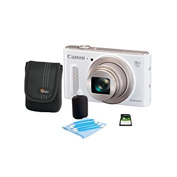Canon PowerShot SX610 HS 20.2 MP Point & Shoot Camera (White)