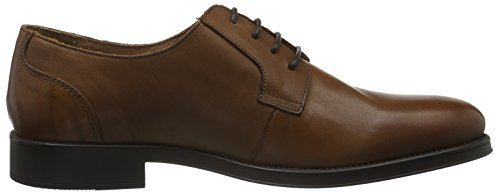 Selected Herren Shdoliver Derby Shoe Noos Braun (Cognac)