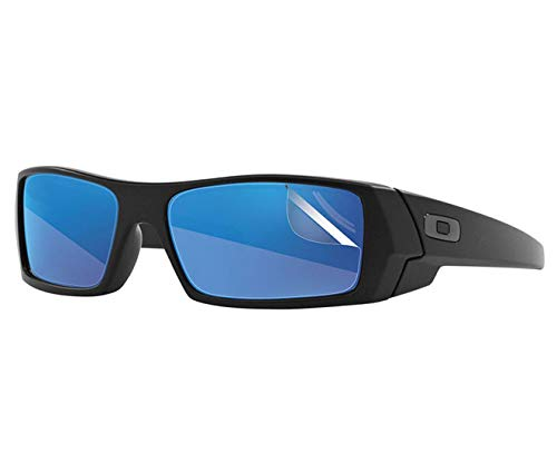 RIPCLEAR Sunglass Protectors for Oakley Gascan Sunglasses - Scratch Proof Crystal Clear - 2 pack Lens Protectors