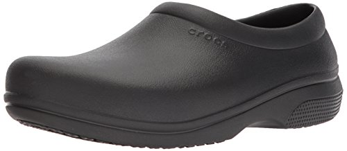 crocs Clock Work Slipon, Unisex - Erwachsene Slip-On, Schwarz (Black), 48-49 EU Crocs Slip On Schuhe
